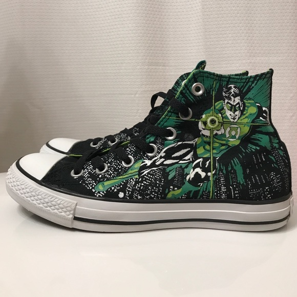 4173d0033c33 Converse Other - DC Comic Converse - Green Lantern